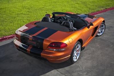 2010 Dodge Viper SRT10 Rear View