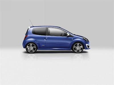 2010 Renault Twingo Gordini RS Side View