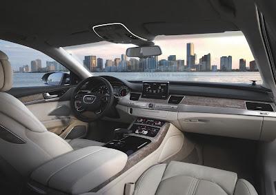 2011 Audi A8 Interior