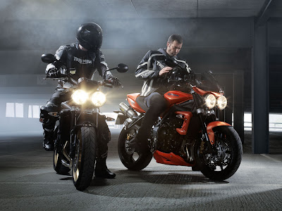 2010 Triumph Street Triple R Wallpaper