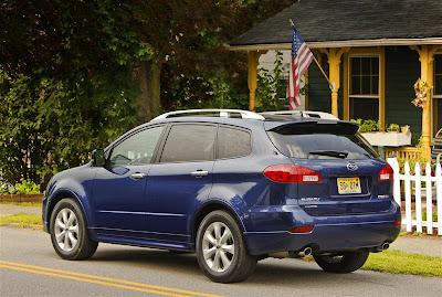 2010 Subaru Tribeca Side View