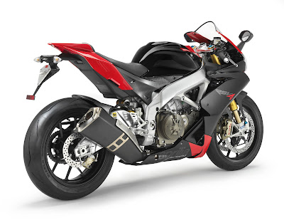 2011 Aprilia RSV4 Factory Rear Side View