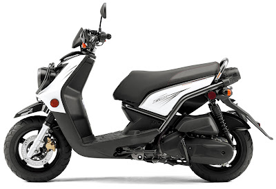 2010 Yamaha BWs Zuma 125 Side View