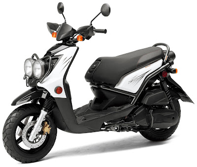 2010 Yamaha BWs Zuma 125 Sporty Scooter