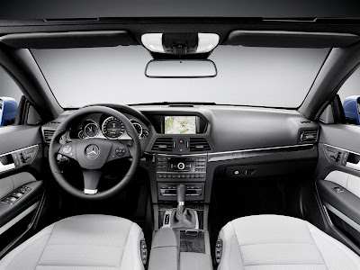 2011 Mercedes-Benz E-Class Cabriolet Interior