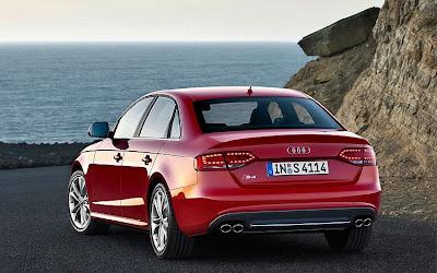 2010 Audi S4 Rear View