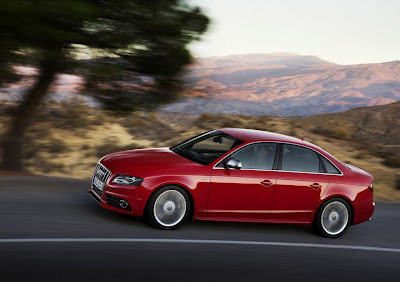 2010 Audi S4 Side View