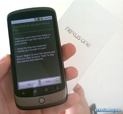 Google Nexus Smartphone