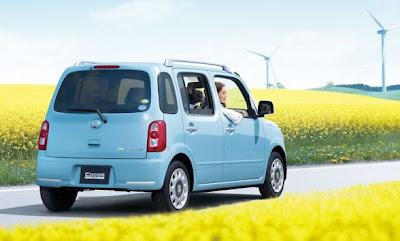 2010 Daihatsu Mira Cocoa Rear View