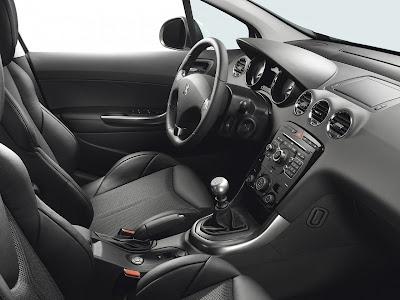 2011 Peugeot 308 GTi Interior