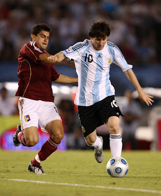 Lionel Messi World Cup 2010 Action