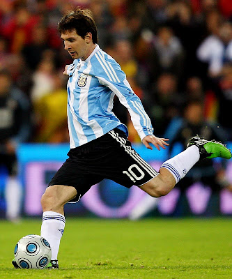 Lionel Messi World Cup 2010 Best Poster