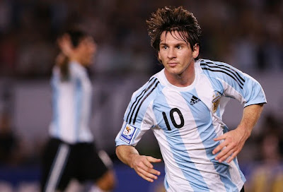 Lionel Messi World Cup 2010 Football Wallpaper