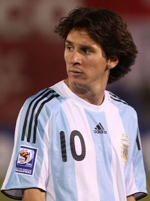World Cup 2010 Lionel Messi Argentina Football Team