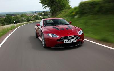 2011 Aston Martin V12 Vantage Test Drive