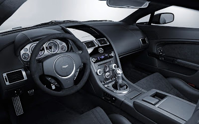 2011 Aston Martin V12 Vantage Car Interior