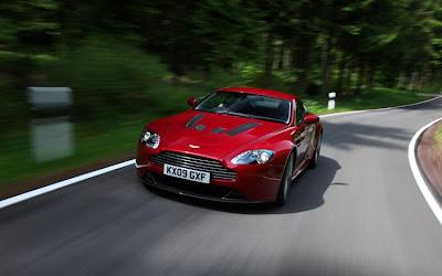2011 Aston Martin V12 Vantage Front Angle View