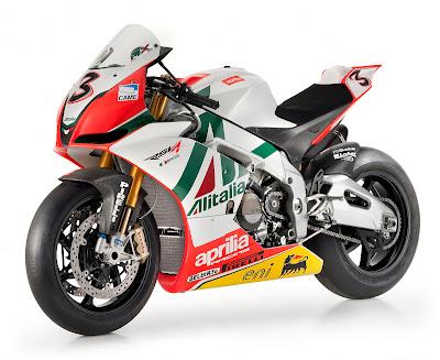 Aprilia RSV4 Max Biaggi Replica Motorcycle