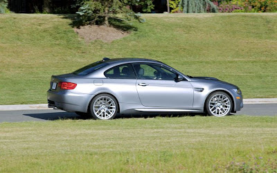 2011 BMW M3 Frozen Gray Coupe Side View