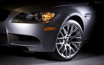 2011 BMW M3 Frozen Gray Coupe Wheel