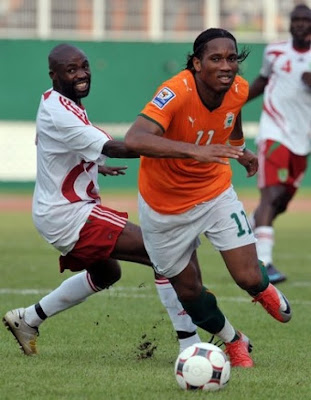 Didier Drogba World Cup 2010 Football Photos