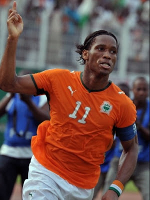 didier drogba hair. Didier Drogba World Cup 2010