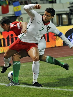 Cristiano Ronaldo Portugal World Cup 2010 Best Football Player