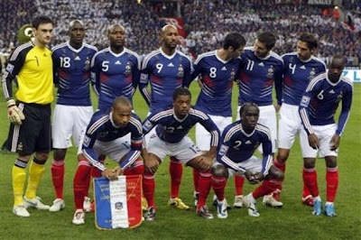 France Football Team World Cup 2010 Wallpaper