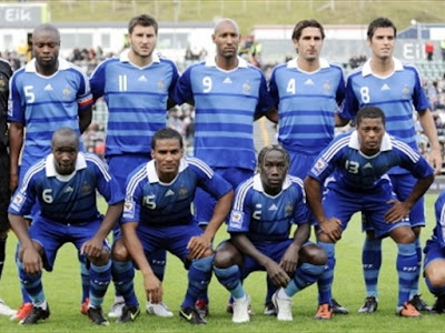 France Football Team World Cup 2010 Image