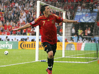 World Cup 2010 David Villa Celebration