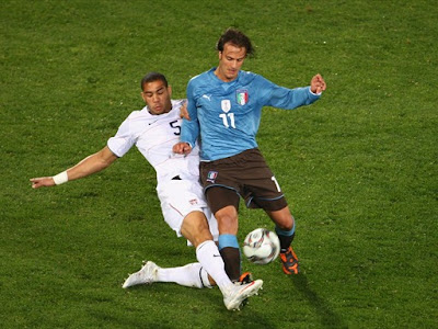 World Cup 2010 Alberto Gilardino Italy Football Player