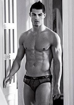 Cristiano Ronaldo Sexy Armany Model