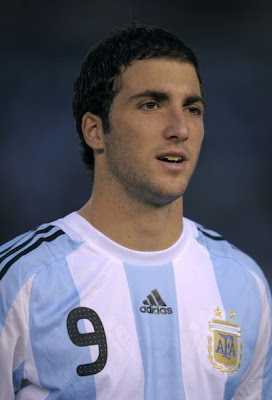 Gonzalo Higuain World Cup 2010 Argentina Football Player