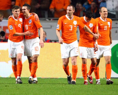 Netherlands World Cup 2010 Football Players