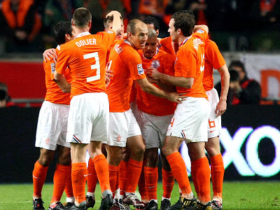 Netherlands National Team World Cup 2010 Football Picture