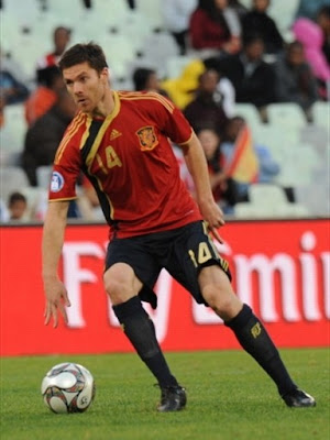 Xabi Alonso World Cup 2010 Picture