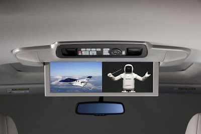 2011 Honda Odyssey Video Screen View