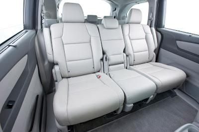 2011 Honda Odyssey Seats View