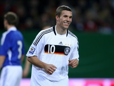 Lukas Podolski World Cup 2010 Germany Soccer Player