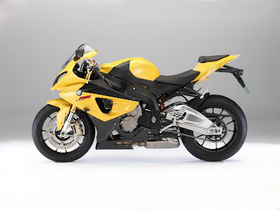 2011 BMW S1000RR Yellow Series