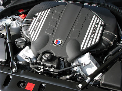 2011 Alpina BMW B5 Bi-Turbo Car Engine