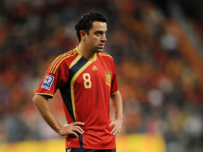Xavi Hernandez World Cup 2010 Football Wallpaper