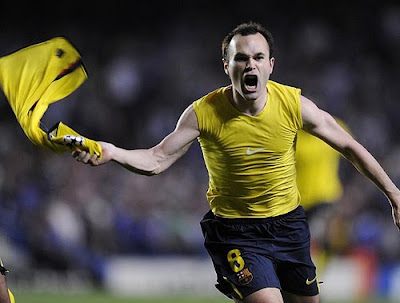 Andres Iniesta World Cup 2010 Celebration