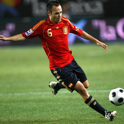 Andres Iniesta World Cup 2010 Photos