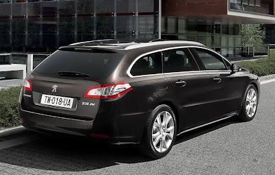 2011 Peugeot 508 Rear Side Angle View