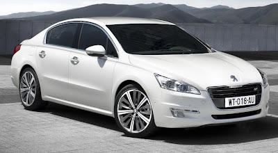 2011 Peugeot 508 Front Side Angle View