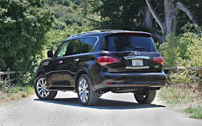 2011 Infiniti QX56 Rear Angle View