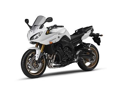 2011 Yamaha Fazer8 White