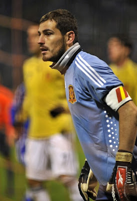 Iker Casillas World Cup 2010 Spain Best Goalkeeper