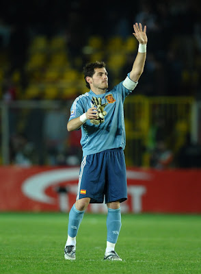 Iker Casillas World Cup 2010 Big Poster